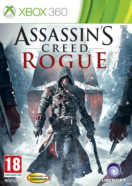 Assassin's Creed: Rogue - Xbox 360 - Portada