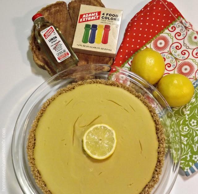 Home Sweet Homestead: Lemon Cream Pie