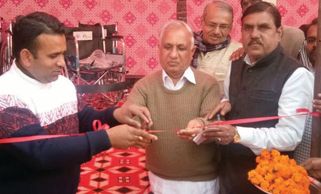 BJP leader Roop Singh Nagar inaugurated Sun Health Health Health Camp