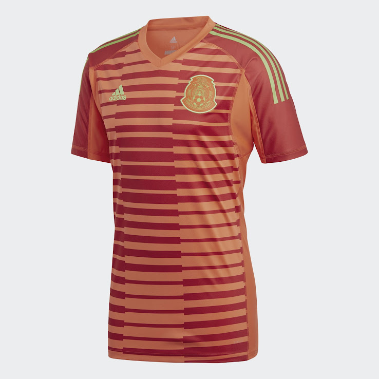 d46fe8ee2 Mexico 2018 World Cup Goalkeeper Kit Released - Footy Headlines