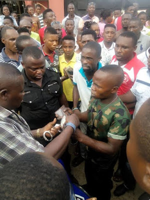 WARRI GUYS PANEL BEAT A SOLDIER FOR ALLEGEDLY STEALING AN IPHONE –WHAT HAPPENED NEXT WILL SHOCK YOU (PHOTOS)