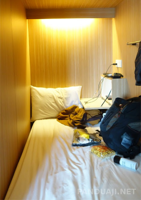 salah satu dorm di the lodge packer yogyakarta