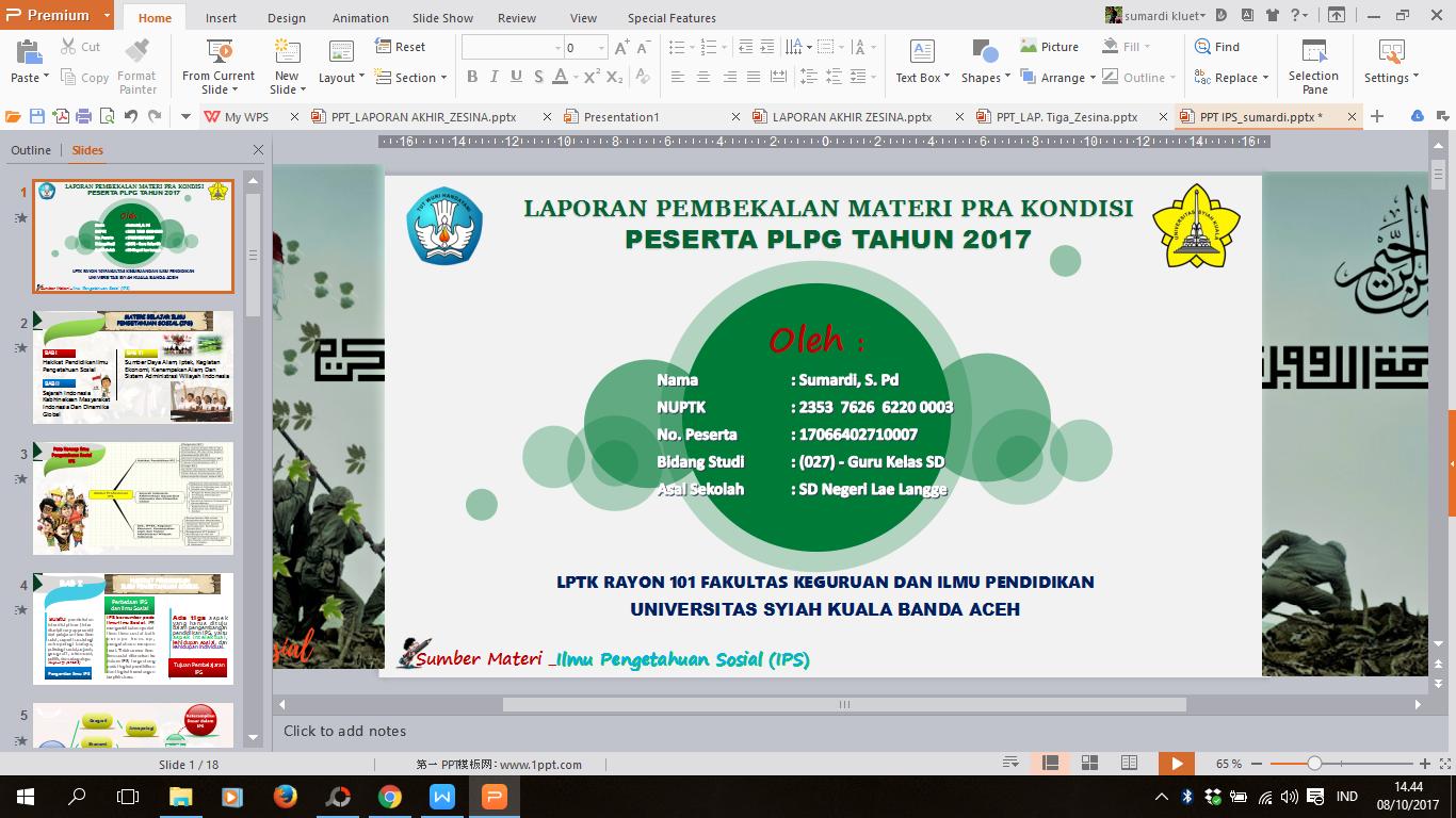 kumpulan template ppt editable keren indonesia mendidik