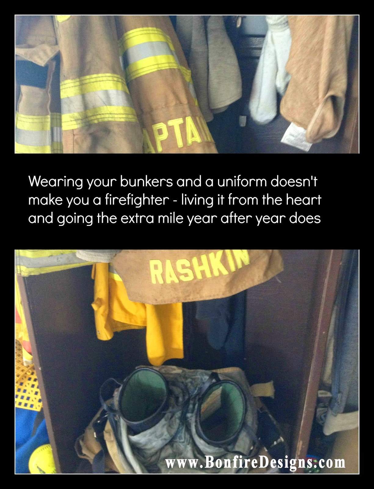 Firefighters Bunker Gear Doesn't Make You A Firefighter