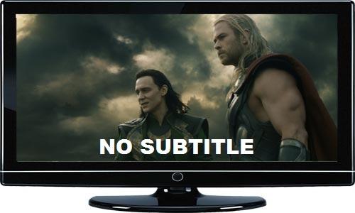 Nonton Film di TV LCD Melalui USB (Flashdisk) Tidak Bisa Menampilkan Subtitle (Tidak Terbaca)
