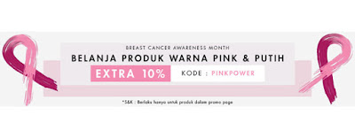 Breast Cancer Awareness Month + 10% off - Berrybenka