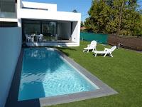 chalet en venta frente club golf grao castellon piscina