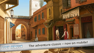 Merupakan game point n click bertema petualangan hasil kerja sama Animation Art Unduh Game Android Gratis Lost Horizon apk + obb