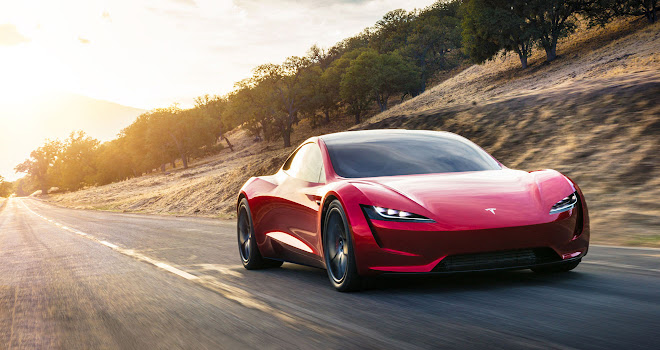 Tesla 2020 Roadster blah
