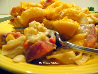 Ham and Pasta Casserole at Miz Helen's Country Cottage