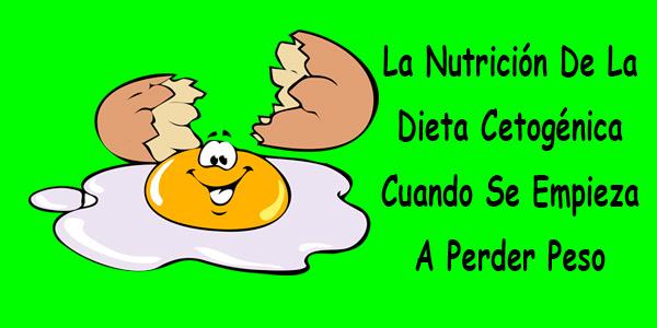 Cuando se empieza a perder peso en la dieta cetogenica