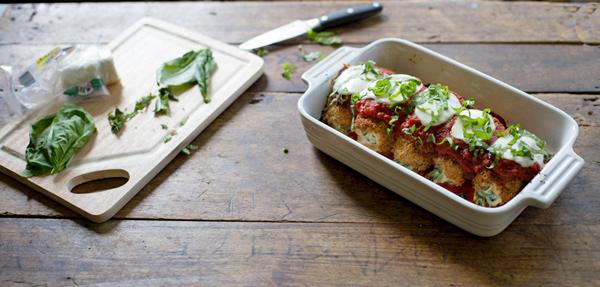 #Baked #Mozzarella #Chicken #Rolls