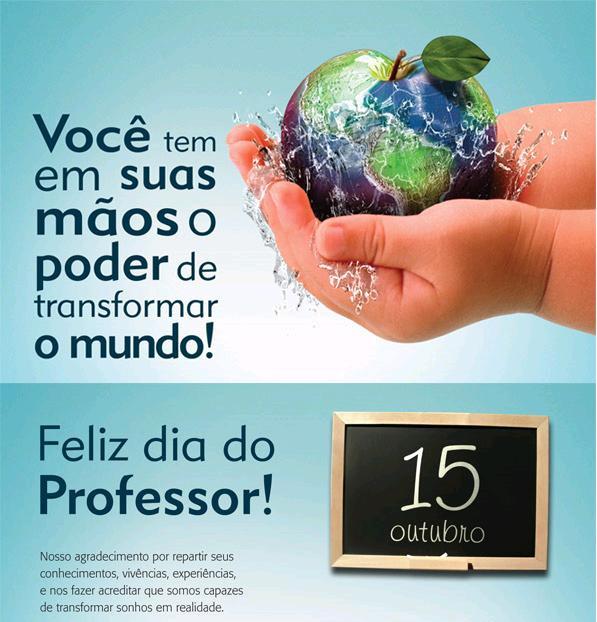 BLOG DA PROFESSORA FLOR: Mensagens Para O Dia Do Professor