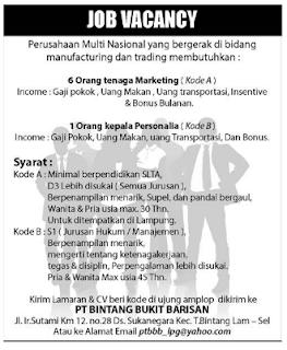 PT Bintang Bukit Barisan