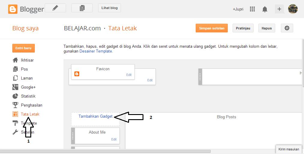 cara membuat popular post keren, cara membuat popular post bergerak, cara membuat popular post keren di blog.