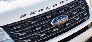 2019 Ford Explorer Spied