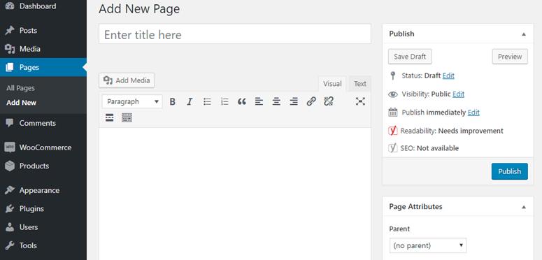 tambahkan halaman baru