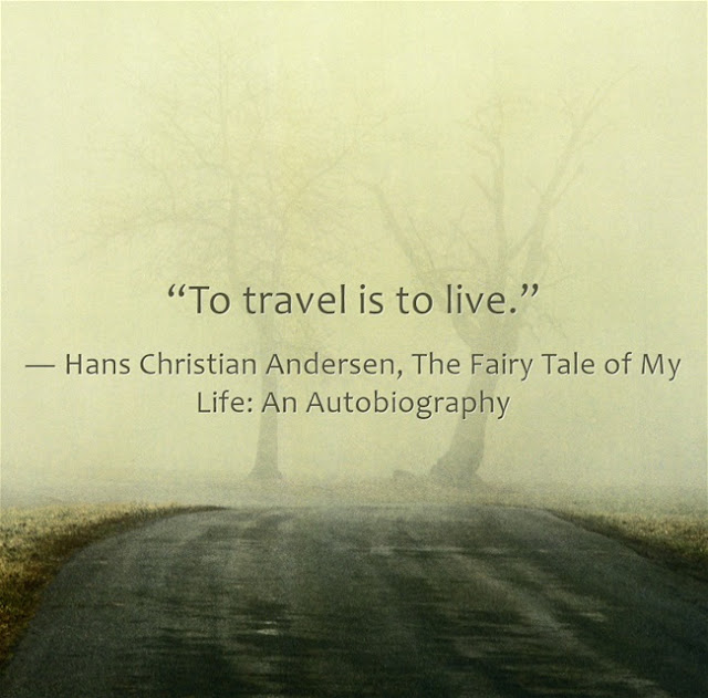 Hans quote bout travelling