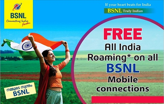 BSNL extended Free All India Roaming for one year on PAN India with effect from 15th June 2018