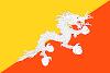 Logo Gambar Bendera Negara Bhutan PNG JPG ukuran 100 px