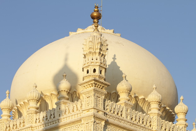 Inticate work on Gumbaz, Srirangapatna