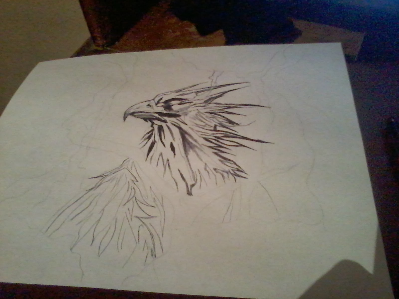 No Se Dibujar Como Dibujar Un Ave Fenix