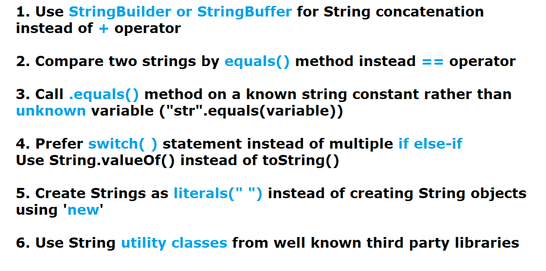 Guide to String Best Practices in Java