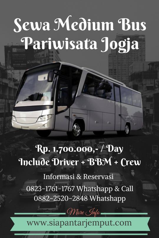 Rental Medium Bus di Jogja || Sewa Medium Bus Pariwisata di Yogyakarta
