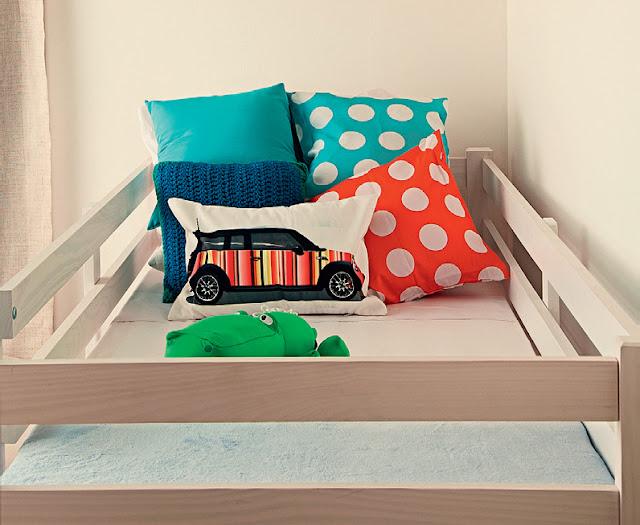 Dormitorio peque o para ni o y ni a - Habitacion pequena nina ...