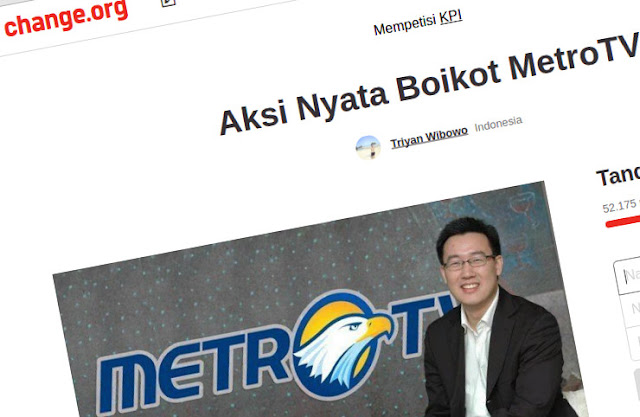 Fenomena Gerakan Boikot Metro TV, Ummat Kian Cerdas