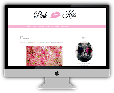 Template, layout, tema responsivo para Blogger