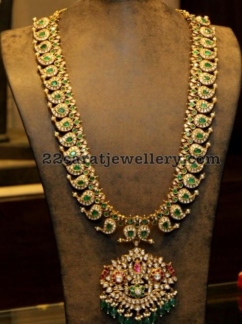 Emerald Mango Set By Hiya Jewellers Jewellery Designs