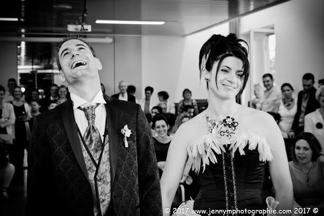 portrait mariés, photo du oui à la mairie