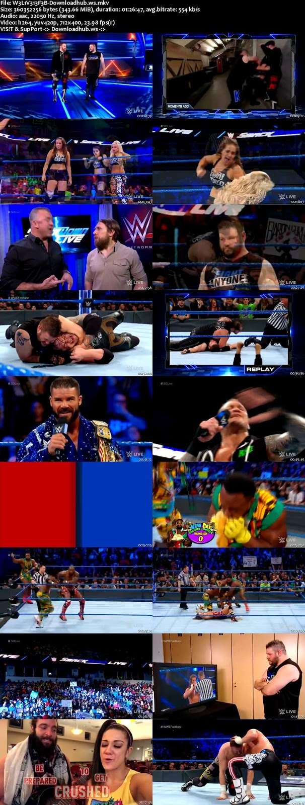 WWE Smackdown Live 13 February 2018 480p HDTV Download