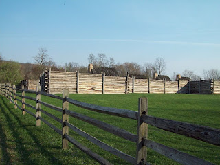 Fort Roberdeau - History of the Original Lead Mine Fort