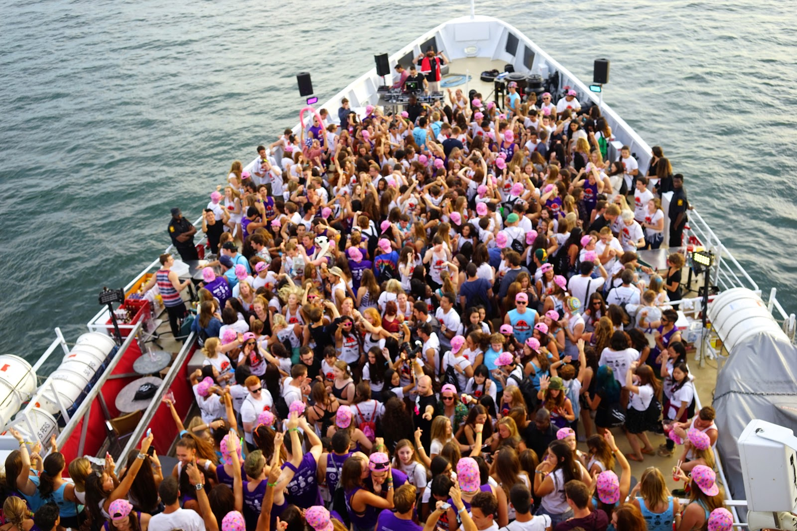 mcgill frosh boat party