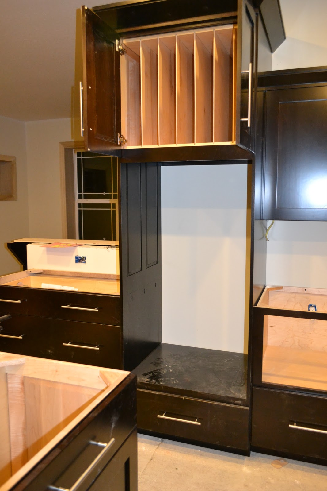 Schrank Einbauherd De Jong Dream House Kitchen Cabinets Installed