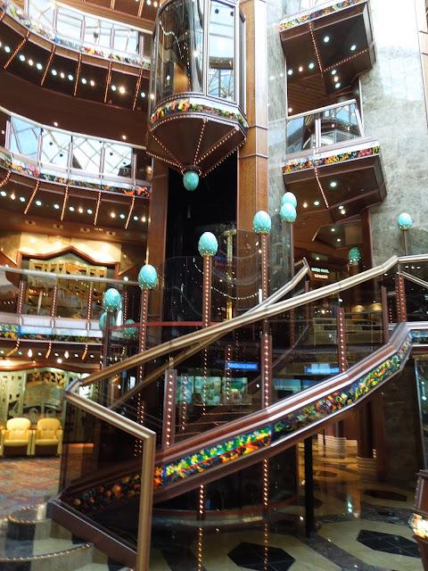 Carnival Paradise atrium