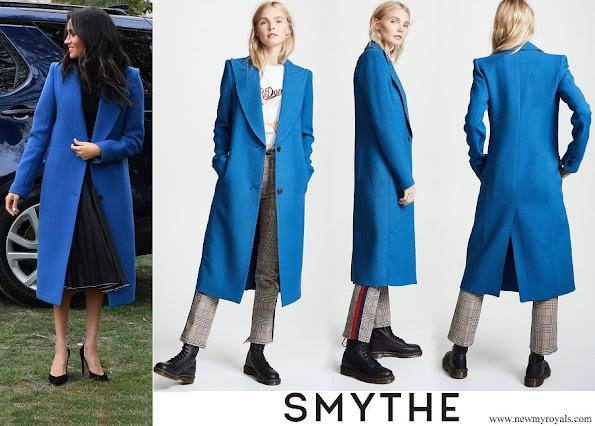 Meghan Markle wore SMYTHE Peaked Lapel Coat