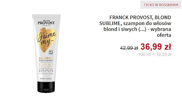 Franck Provost - Szampon do włosów
