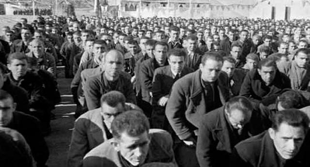 Presos republicanos en la cárcel de Porlier