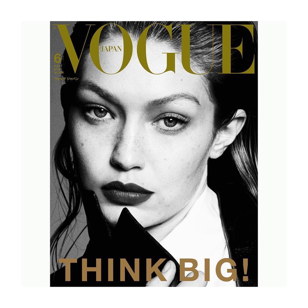 Vogue Japan June 2018 - Gigi Hadid by Luigi & Iango