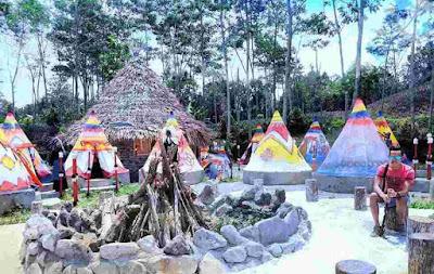 kampung indian ngancar kediri