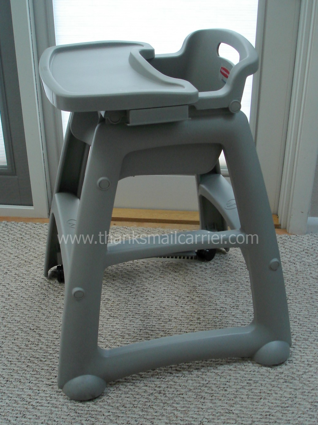 Rubbermaid Chairs Thanks Mail Carrier Rubbermaid High Chair And Tray From