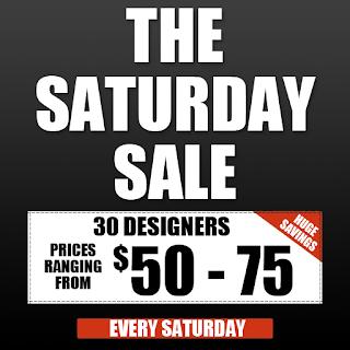 Saturday Sale