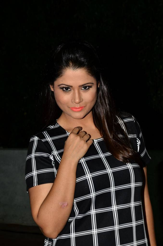 Shilpa Chakravarthy At Srivalli Movie Pre Release Event Gallery