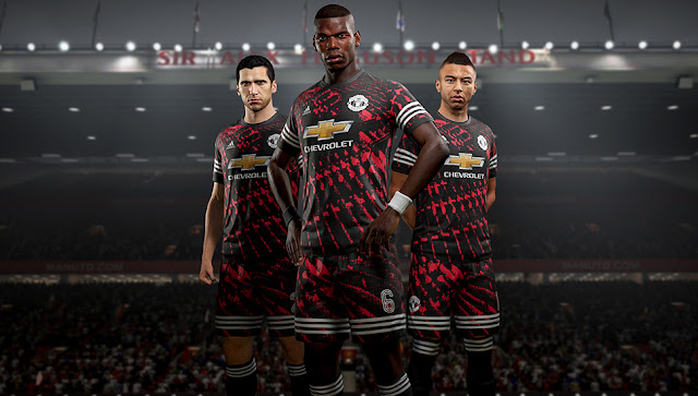 Manchester United x adidas Digital 4th Kits