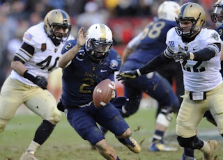 Army vs Navy 2011, Navy beats Army for 10th times in a row, Army-Navy Football