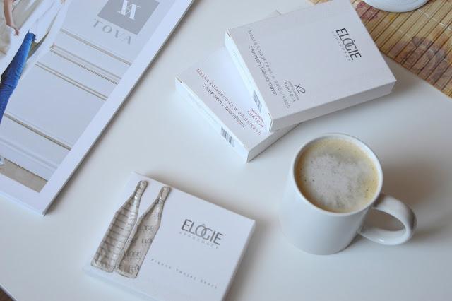 recenzja ELOGIE maski kolagenowe kawior