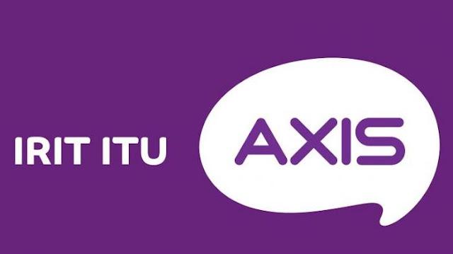 Paket Axis Paket Karet yang murah dan awet Kuotanya